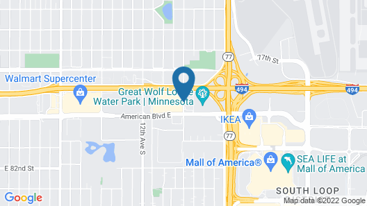 Residence Inn by Marriott Bloomington by Mall of America Map