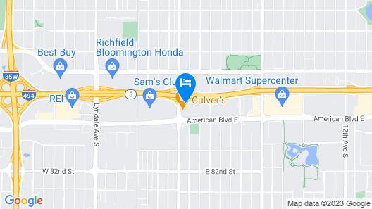 La Quinta Inn by Wyndham Minneapolis Airport Bloomington Map