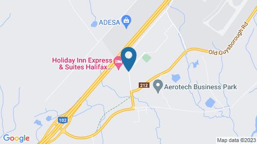 Holiday Inn Express Halifax Airport Map