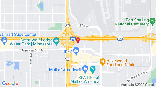 Marriott Minneapolis Airport Map