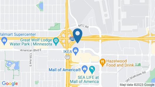 Marriott Minneapolis Airport Map