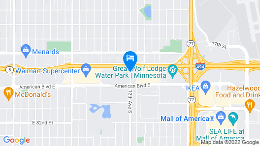 Holiday Inn Express & Suites Mall of America - MSP Airport Map