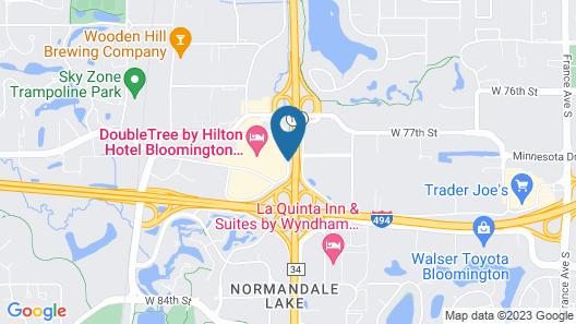 Doubletree by Hilton Bloomington - Minneapolis South Map