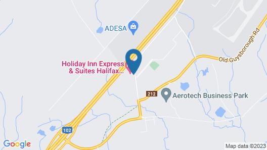 Hilton Garden Inn Halifax Airport Map