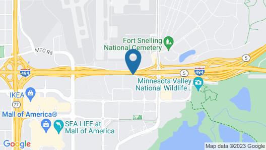 Hyatt Place Minneapolis Airport-South Map