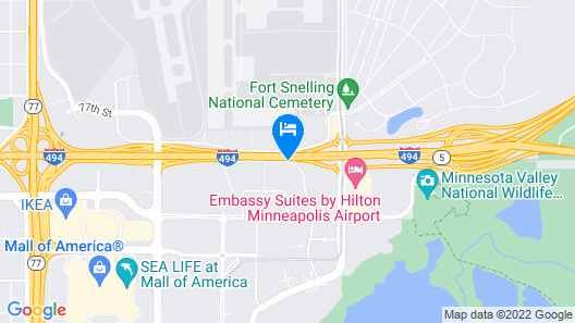 Hyatt Place Minneapolis Airport-South Map