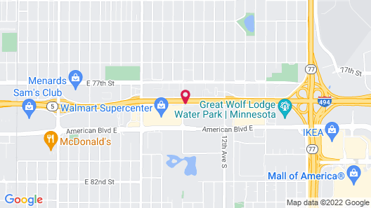 Microtel Inn & Suites by Wyndham Bloomington/Minneapolis Map