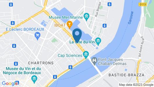 Radisson Blu Bordeaux Map