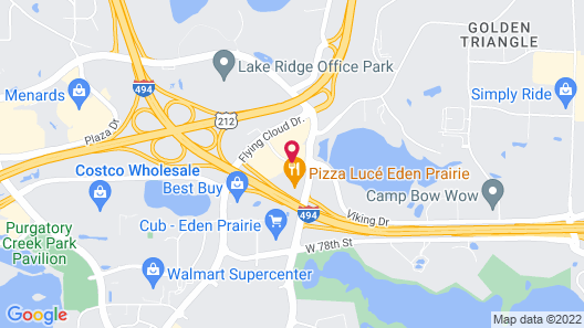 Hyatt Place Minneapolis/Eden Prairie Map