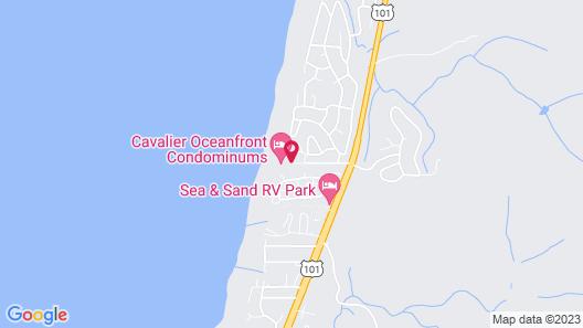 Cavalier Beachfront Condominiums Map
