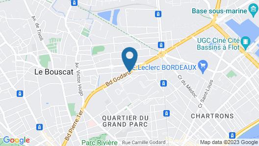 Appart'City Bordeaux Chartons Map