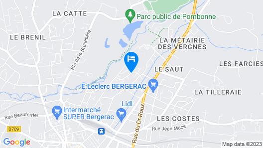 Château les Farcies du Pech Map