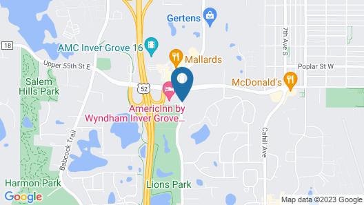 AmericInn by Wyndham Inver Grove Heights Minneapolis Map