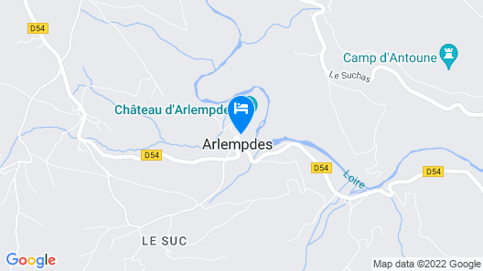 Rural House Montagnac Map
