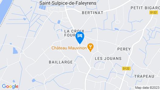 Les Abris de Saint Sulpice Map