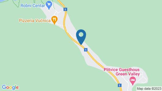 Plitvice Etno House Map