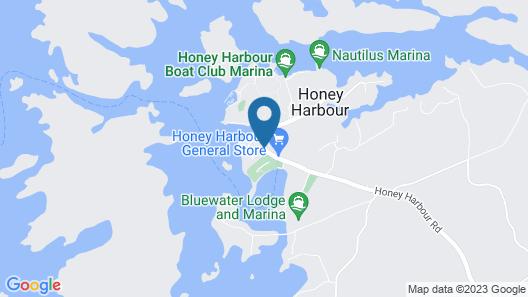 Honey Harbour Cottage Map