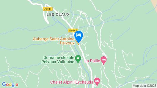 Auberge Saint Antoine Map