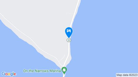 Glen Lake-glen Arbor Waterfront Home W/dock & Mooring Map