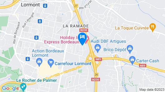 Holiday Inn Express Bordeaux - Lormont, an IHG Hotel Map