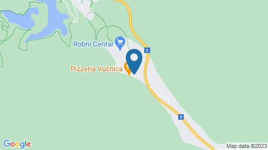 Natura Plitvice Lakes Map