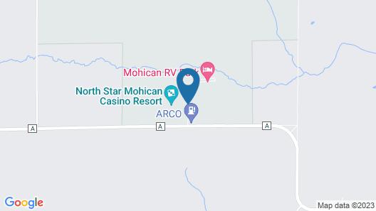 North Star Mohican Casino Resort Hotel Map