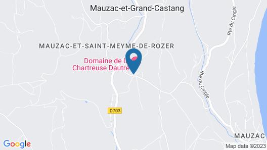 Domaine de la Chartreuse Dautré Map