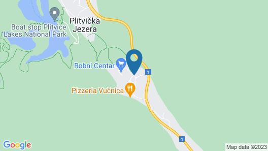 Villa Lika Annex Map