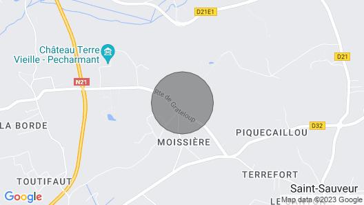 Charming cottage in Purple Périgord, near Bergerac Map