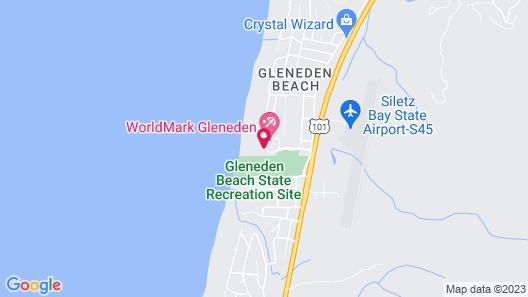 WorldMark Gleneden Beach Map