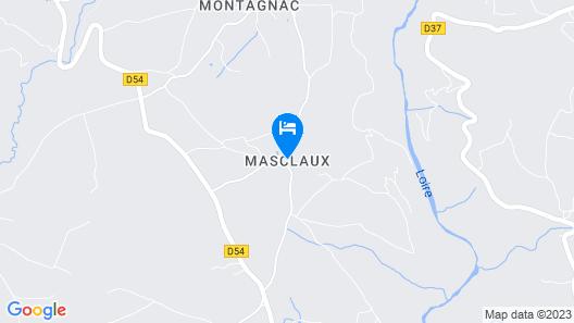 Le Clos de Masclaux Map