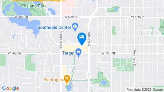 The Westin Edina Galleria Map
