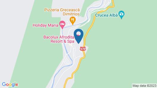 Afrodita Resort & SPA Map
