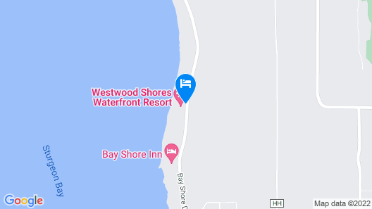 Westwood Shores Waterfront Resort Map