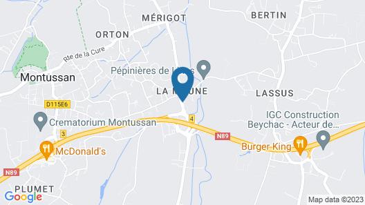 Château la Moune Map