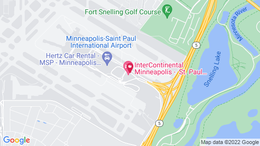 InterContinental Minneapolis - St. Paul Airport, an IHG Hotel Map