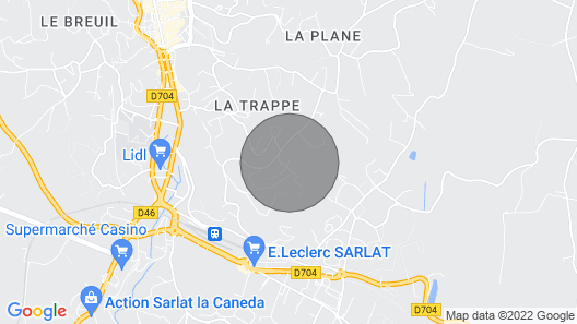 Sarlat Near Property Stone Conditioning With Heated Pool Map