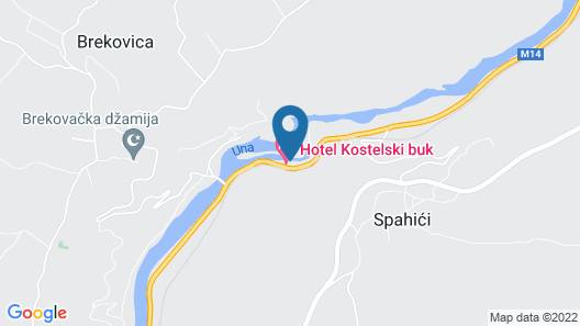 Kostelski Buk Hotel Map