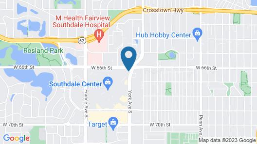 Homewood Suites by Hilton Edina Minneapolis Map