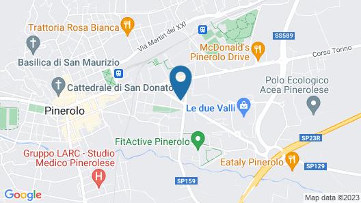 Terrazza Pinerolo Map
