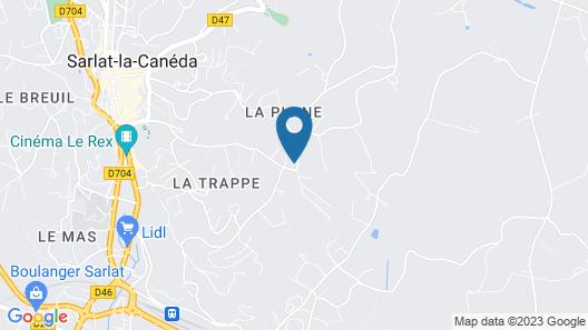 Hotel Le Mas Del Pechs Map