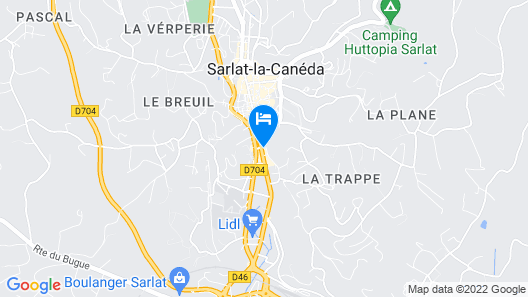 Hotel Montaigne Map