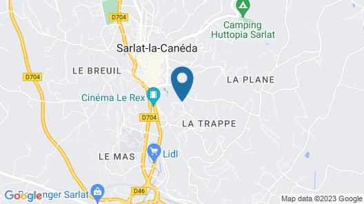 La Trappezienne Map