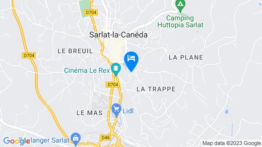 Villa Louise Map