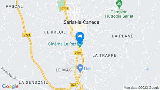 Hôtel Saint-Albert Map