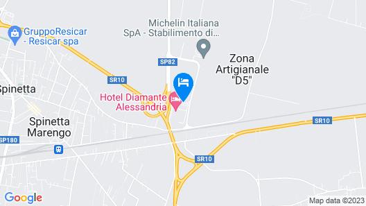 Diamante Hotel Map
