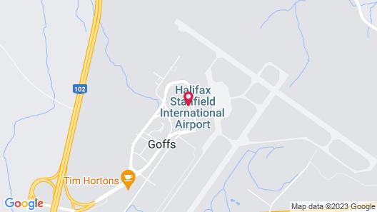 Alt Hotel Halifax Airport Map
