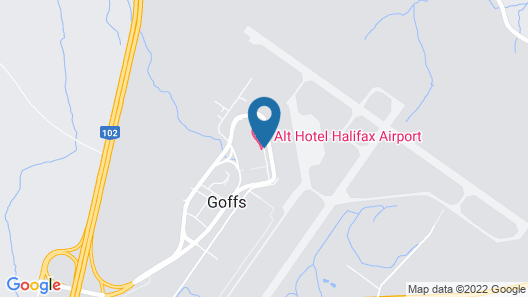 Alt Hotel Halifax Airport Map