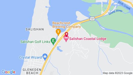 Salishan Coastal Lodge Map