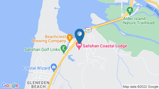 Salishan Coastal Lodge Map